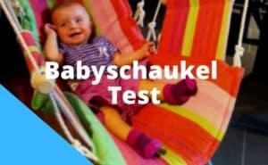Babyschaukel Test