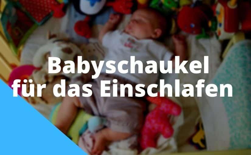 Babyschaukel für das Einschlafen
